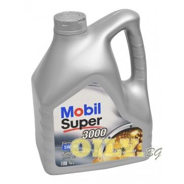 Mobil Super 3000 X1 Formula FE 5W30 - 4 литра