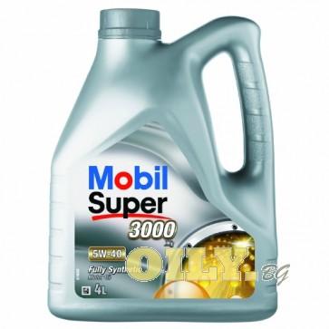 Mobil Super 3000 X1 5W40 - 4 литра