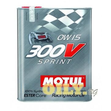 Motul 300V Sprint 0W15 - 2 литра