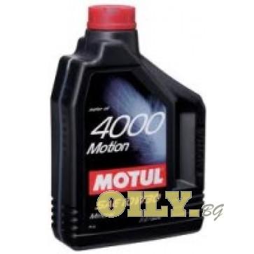 Motul 4000 Motion 10W30 - 2 литра