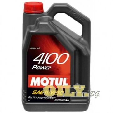 Motul 4100 Power 15W50 - 4 литра