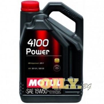 Motul 4100 Power 15W50 - 5 литра