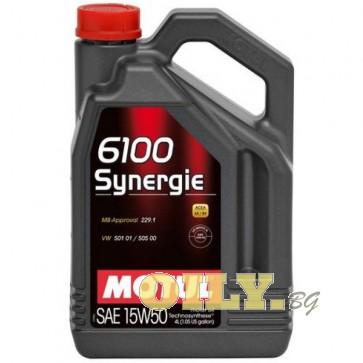 Motul 6100 Synergie 15W50 - 4 литра