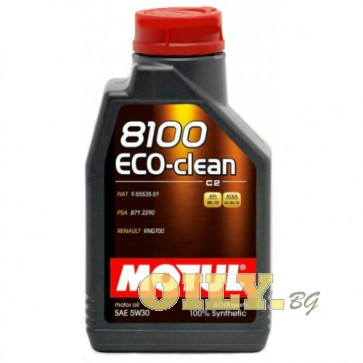 Motul 8100 ECO-Clean 5W30 - 1 литър