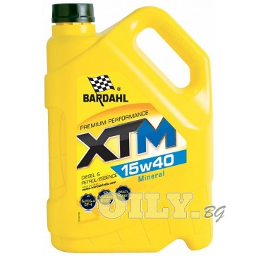 Bardahl - XTM 15W40 - 5 литра