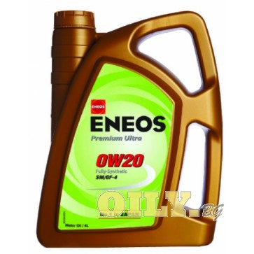 Eneos Premium Ultra 0W20 - 4 литра