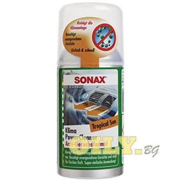 Sonax - Спрей за почистване на климатик - Tropical Sun - 0.150 литра