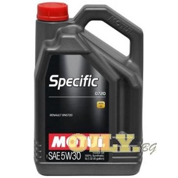 Motul Specific 0720 5W30 - 5 литра