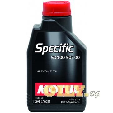 Motul Specific 504 00 507 00 - 1 литър