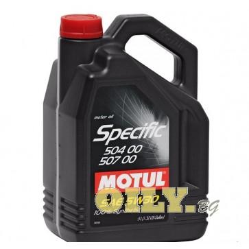 Motul Specific 504 00 507 00 - 5 литра