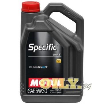 Motul Specific dexos2 5W30 - 5 литра
