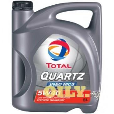 Total Quartz INEO MC3 5W40 - 5 литра