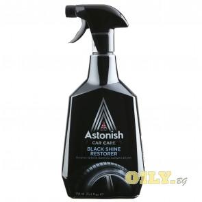 Astonish Black Shine Restorer - спрей отново черни гуми - 0,750 литра