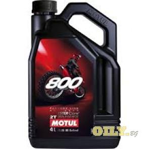 Motul 800 2T FL Off Road - 4 литра