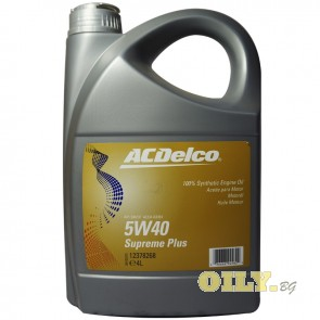 ACDelco Supreme Plus 5W40 - 5 литра