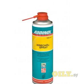 Проникващ смазочен спрей Addinol Creep oil spray - 0.5 литра