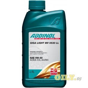 Addinol Giga Light MV 0530 LL - 1 литър