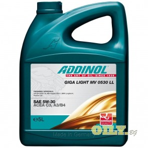 Addinol Giga Light MV 0530 LL - 5 литра