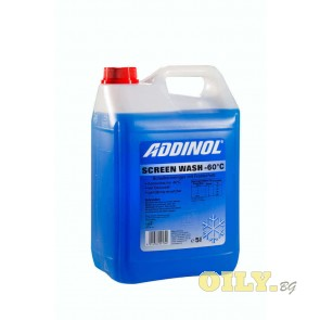 Течност за чистачки Addinol Screen Wash - 60°C - 5 литра