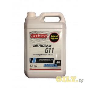 Ardeca Antifreeze Plus G11 - 5 литра