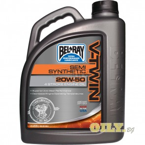 Bel-Ray V-Twin Semi-Synthetic 20W50 - 4 литра