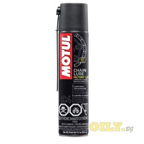 Motul C4 Chain Lube Factory Line - 0.4 литра