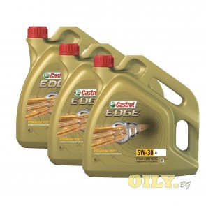 Castrol Edge 5W30 LL Titanium FST - 3 броя x 4 литра