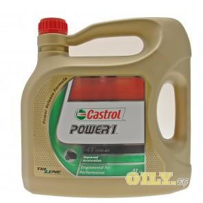 Castrol Power 1 4T 10W40 - 4 литра
