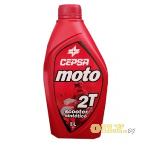 Cepsa Moto 2T Scooter - 1 литър