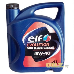 Elf Evolution 500 Turbo Diesel 15W40 - 4 литра