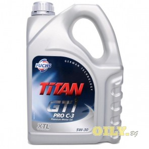 Fuchs Titan GT1 Pro C-3 5W-30 - 4 литра