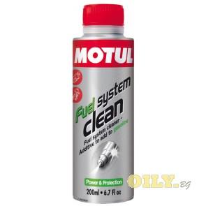Motul Fuel System Clean Moto - 0.2 литра