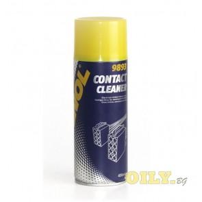 Почистващо средство на всички видове замърсени и корозирали електрически контакти - Mannol Contact Cleaner - 0.450 литра