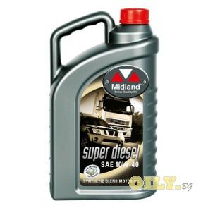 Midland Super Diesel 10W40 - 4 литра