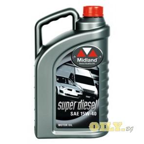 Midland Super Diesel 15W40 - 4 литра