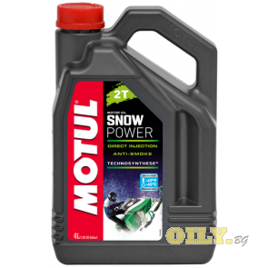 Motul Snow Power 2T ESTER - 4 литра