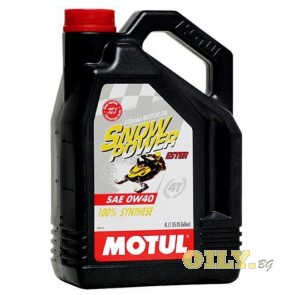 Motul Snow Power 4T 0W40 - 4 литра