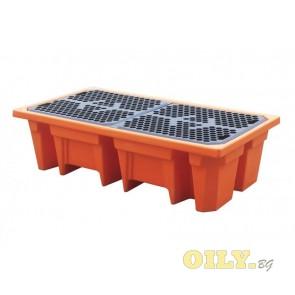 Каптажна вана - пластмасова - 2 варела