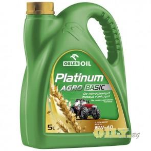 Orlen Platinium Agro Basic 15W40 - 5 литра
