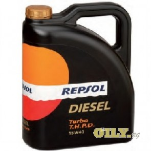 Repsol Diesel Turbo THPD 15W40 - 5 литра