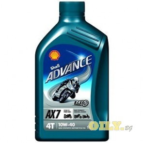 Shell Advance 4T AX7 10W40 - 1 литър