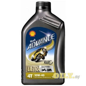 Shell Advance 4T Ultra 10W40 - 1 литър