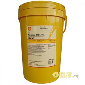 Shell Advance 4T Ultra 10W40 - 20 литра