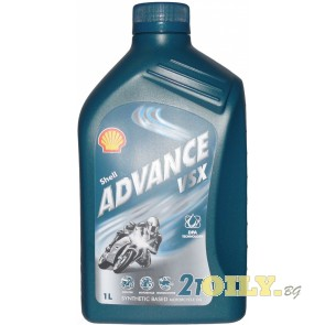 Shell Advance VSX 2T - 1 литър