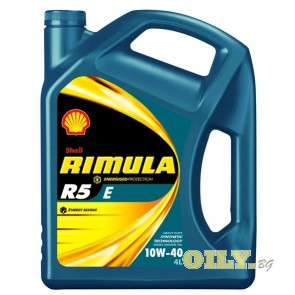 Shell Rimula R5 E 10W40 - 4 литра