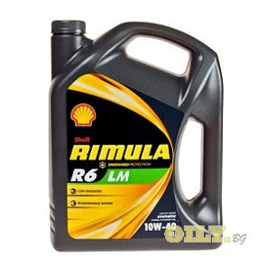 Shell Rimula R6 LM 10W40 - 4 литра
