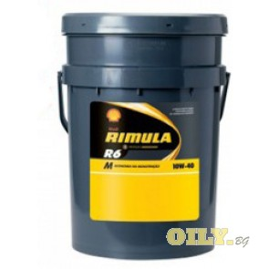 Shell Rimula R6 M 10W40 - 20 литра