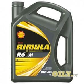 Shell Rimula R6 M 10W40 - 4 литра