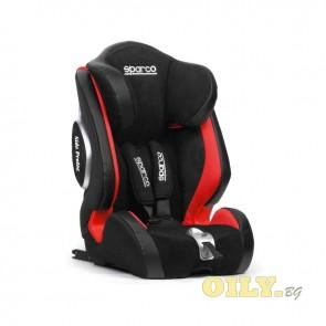 Детско столче Sparco 9-36kg - ISOFIX - Червено