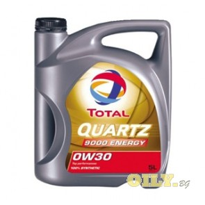 Total Quartz 9000 ENERGY 0W30 - 5 литра